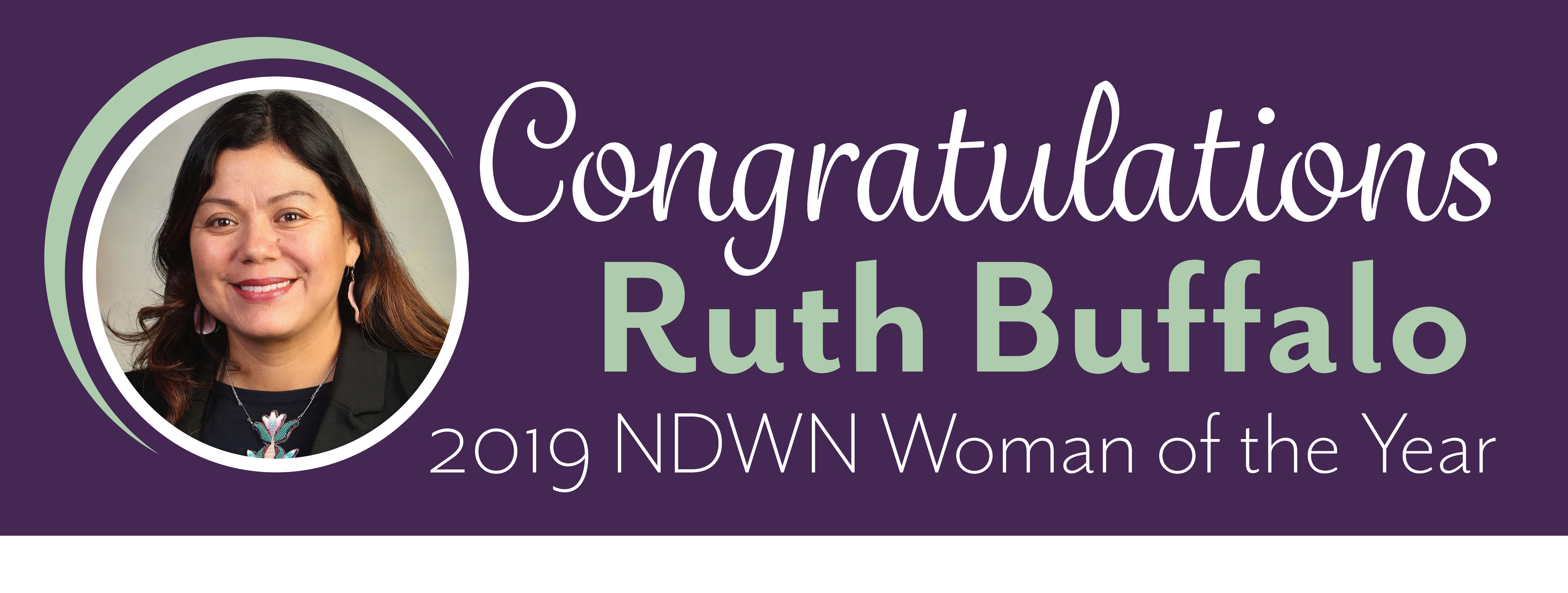 Ruth Buffalo Named Woman of the Year by ND Women's Network